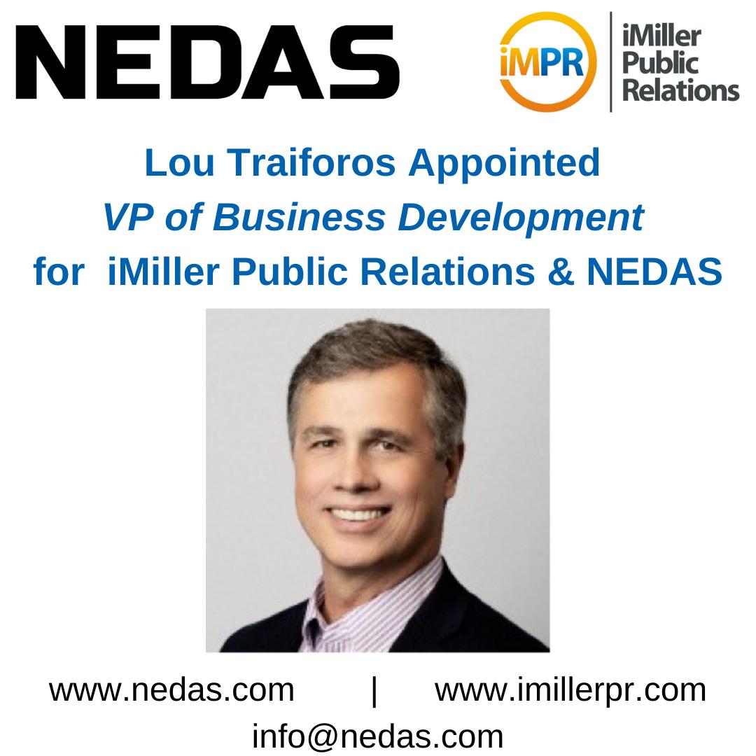 NEDAS ernennt Lou Traiforos zum VP of Business Development