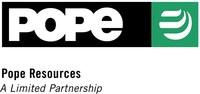 Pope Resources gibt Verfügbarkeit vorläufiger Proxy-Erklärung/Prospekts zu geplanter Fusion bekannt